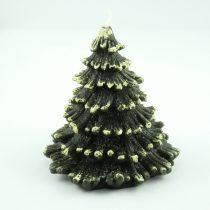 Zöld Fenyőfa Karácsonyfa Gyertya 12x12cm