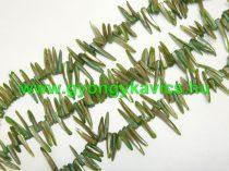 Zöld Kagyló Gyöngy Gyöngyfüzér 2-4cm x 4-8mm