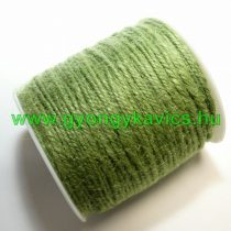 Zöld Kenderzsineg Zsineg Madzag 2.0mm 2mm 1m