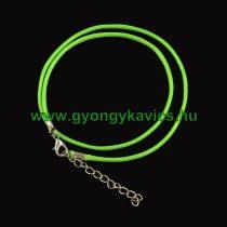 Zöld (3) Kord Nyaklánc 48cm