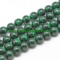 Zöld Malachit Ásványgyöngy Gyöngyfüzér 6mm