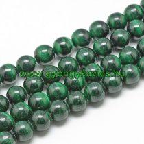 Zöld Malachit Ásványgyöngy 6mm