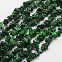 Zöld Malachit Ásványtörmelék Füzér Ásvány Splitter 2-5x7-13mm 85cm