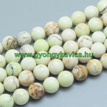Zöld Opál (2) Ásványgyöngy 6mm