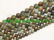 Zöld Opál Ásványgyöngy 6mm