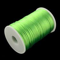 Zöld (83) Szatén Szál Poliészter Szál 2.0mm 2mm 1m