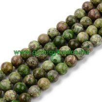 Zöld Türkiz Ásványgyöngy 8mm