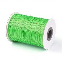 Zöld (18) Viaszolt Kordszál 1.0mm 1m