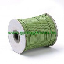 Zöld (55) Viaszolt Kordszál 0.8mm 1m